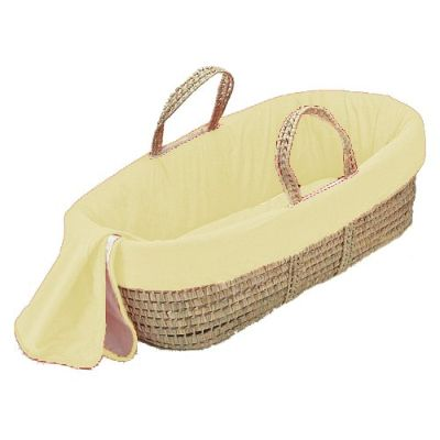 bkb Moses Basket yellow