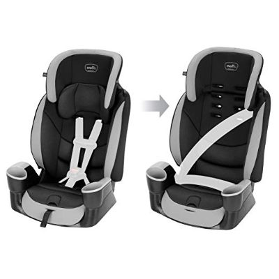 evenflo maestro high back booster seat convertible