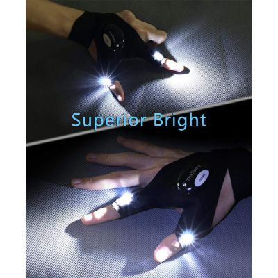 bright flashlight gloves