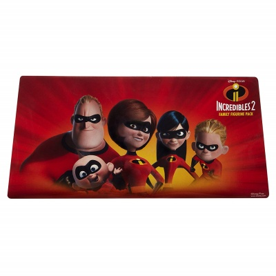 incredibles 5 piece family figure set