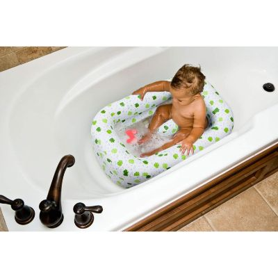 inflatable tub with baby