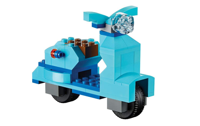 LEGO classic large creative brick box scooter
