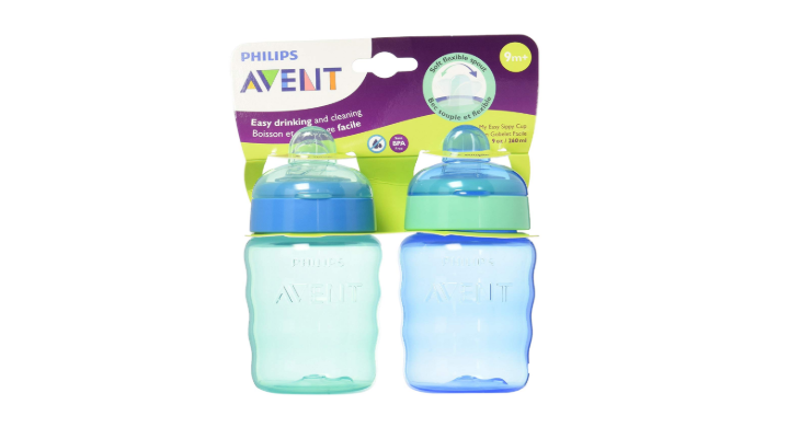 Philips AVENT My Easy Sippy Cup 2 pack blue