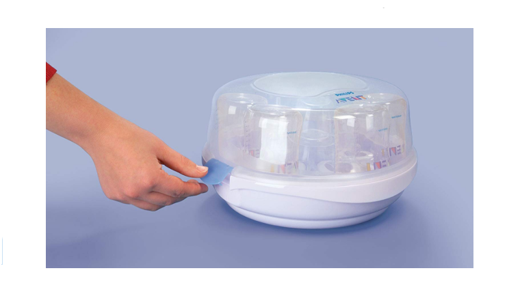 Philips Avent Microwave Steam Sterilizer how to use