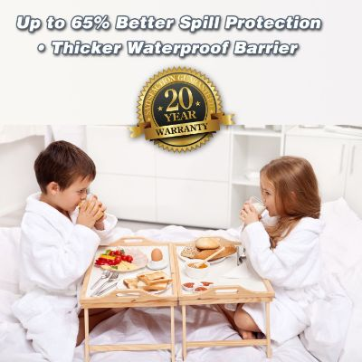 ultra plush mattress protector for kids thick
