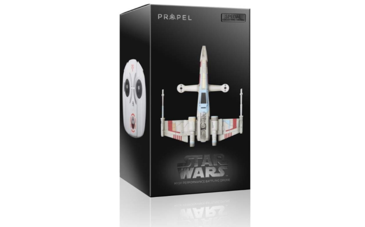 star wars propel quadcopter x wing package