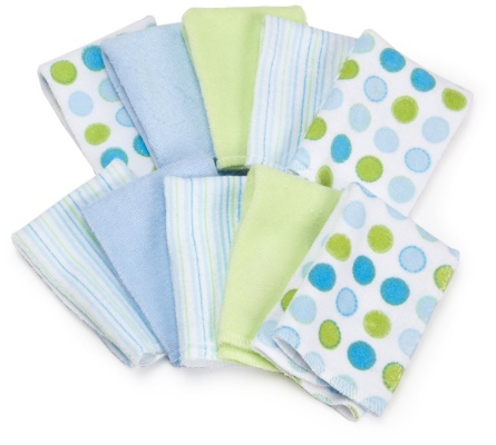 spasilk soft terry baby washcloths patterns
