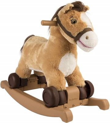 charger rocking horse plush