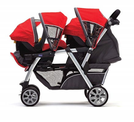 chicco stroller cortina together side