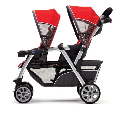 chicco stroller cortina together red