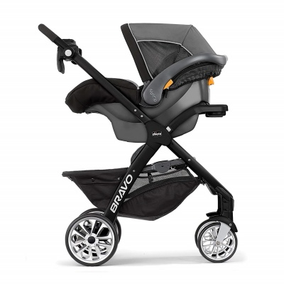 chicco stroller bravo le side view