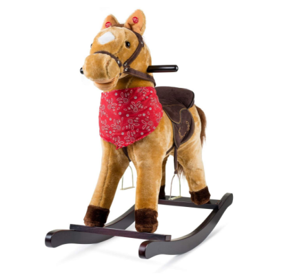 JOON cowboy rocking horse plush