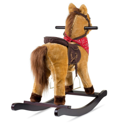 JOON cowboy rocking horse back