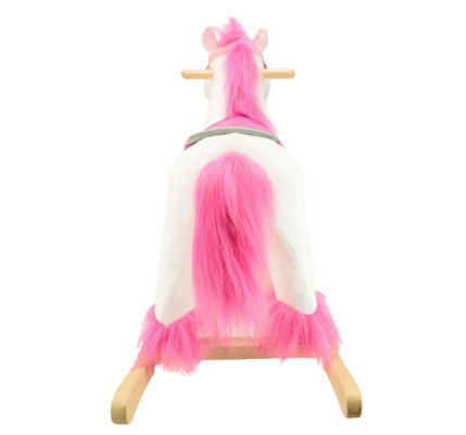 animal adventure unicorn rocking horse back