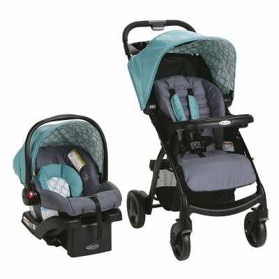 graco stroller verb travel system blue
