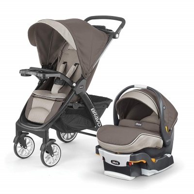chicco stroller bravo le trio travel system two-piece