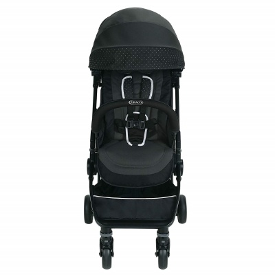 graco stroller jetsetter balancing act front