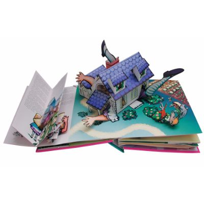 alice in wonderland pop up book