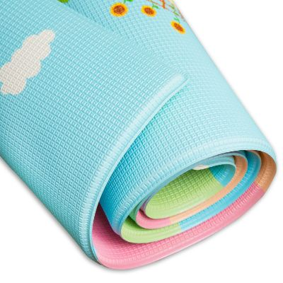 baby care large busy farm baby playmat rolled