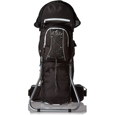 be mindful ergonomic baby carrier for hiking back