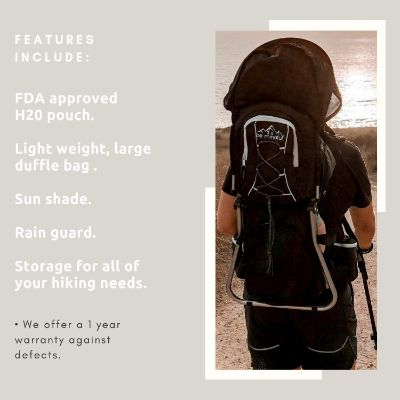 be mindful ergonomic baby carrier for hiking features
