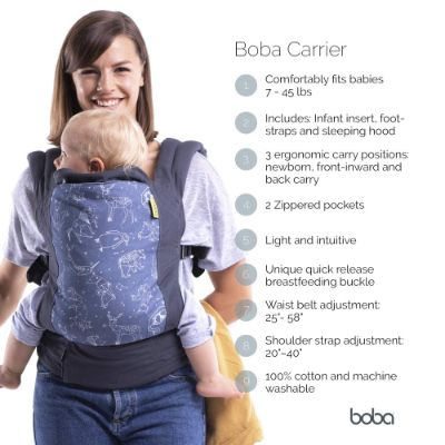 boba 4G dusk baby carrier features