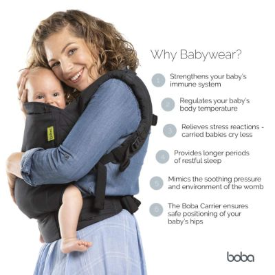 boba 4G dusk baby carrier mom
