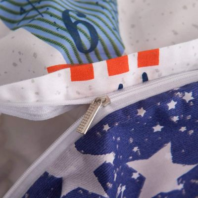 buLuTu space rocket kids bedding zipper