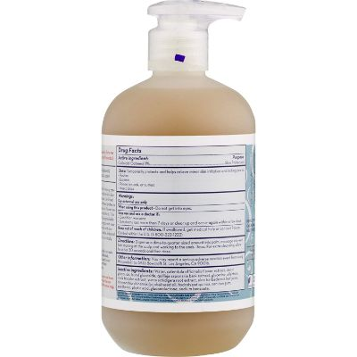california organic oatmeal and calendula baby wash for eczema back
