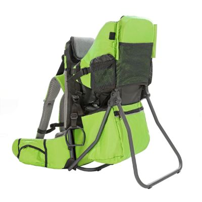 clevr cross country baby carrier for hiking green