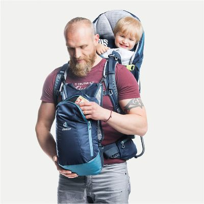 Deuter Comfort Baby Carrier for Hiking father