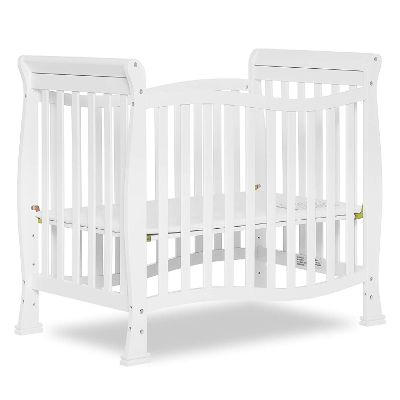 dream on me mini portable cribs height