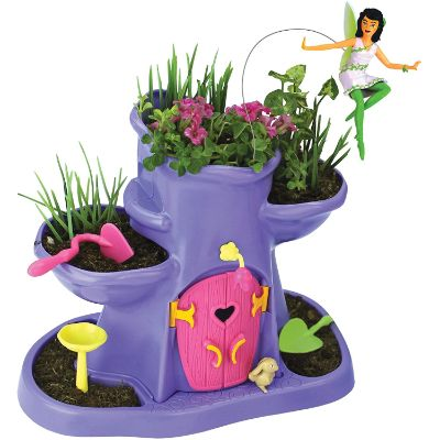 toys that start with f fairy garden tree hollow design