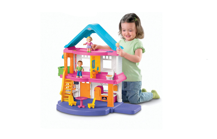 Fisher-Price My First Dollhouse exterior