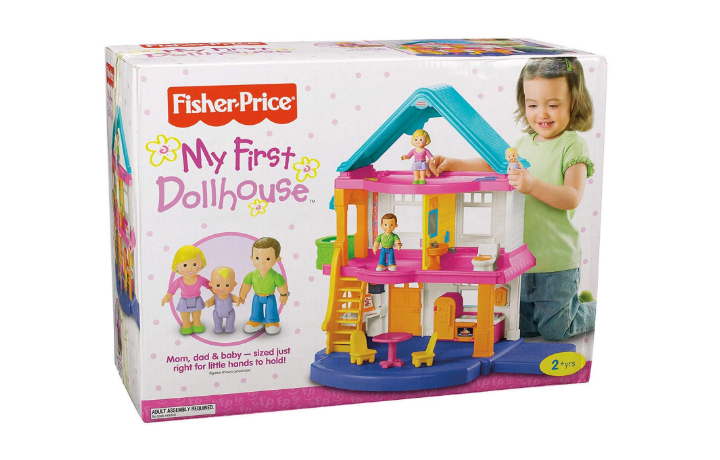Fisher-Price My First Dollhouse box