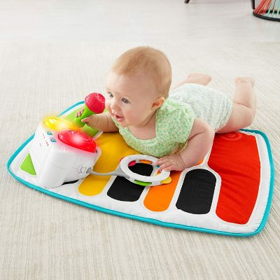 Best Toys 10 Month Olds Fisher Price 4-in-1 Piano Tummy Mat