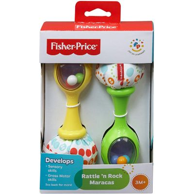 fisher price rattle and rock maracas musical toy box