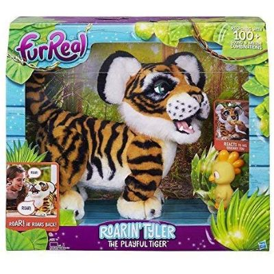 roarin tyler tiger furreal friends package