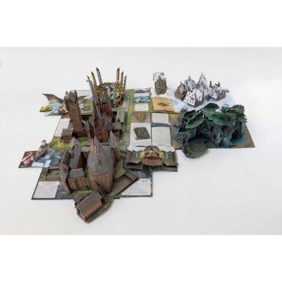 harry potter guide to hogwarts pop up book page