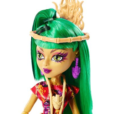 ghouls' getaway jinafire new monster high dolls face