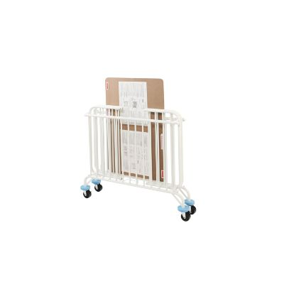 l.a baby deluxe folding metal portable cribs folding