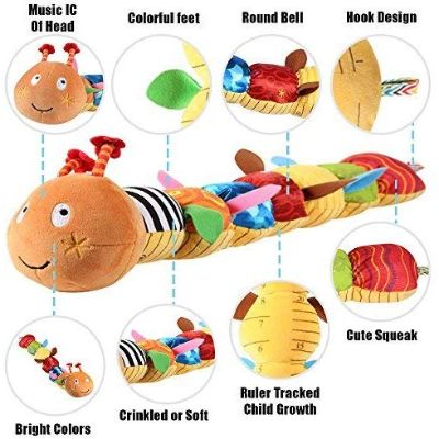 Best Toys 4 Month Olds LightDesire Musical Caterpillar Features