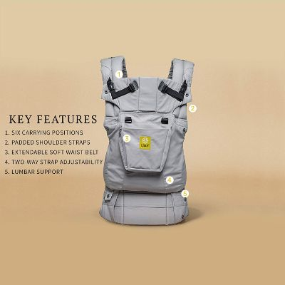 lÍllÉbaby six-Position baby carrier 360° Ergonomic Features