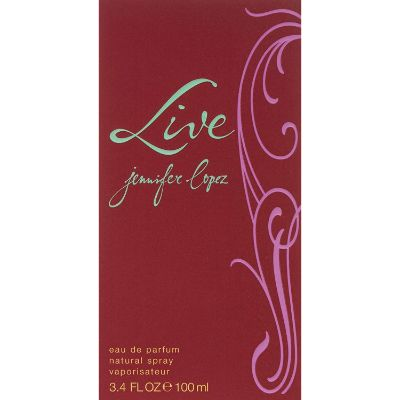 Live Luxe by Jennifer Lopez Best Girls Perfumes front
