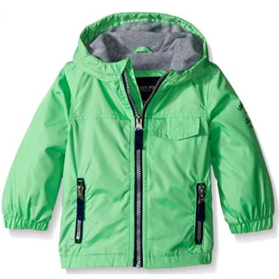 london fog boys baby coat lined green