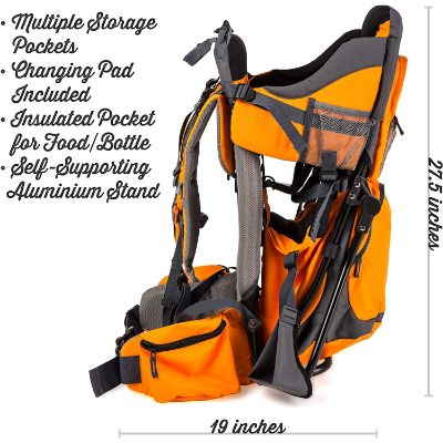 luvdbaby premium baby carrier for hiking measurements and features