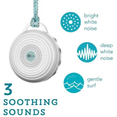 Marpac Rohm Portable White Best Sleep Sound Machines soothing sounds