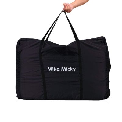 miclassic easy folding portable cribs carrying bag