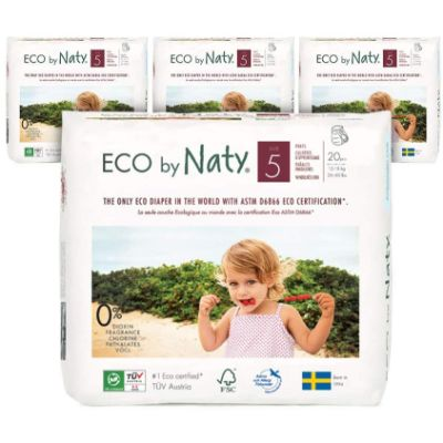 naty eco premium biodegradable diapers pack