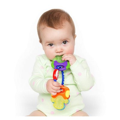Best Toys 3 Month Olds Nuby Ice Gel Teether Keys Infant